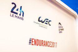 Logos von den24 Stunden von Le Mans, World Endurance Championship und European Le Mans Serie