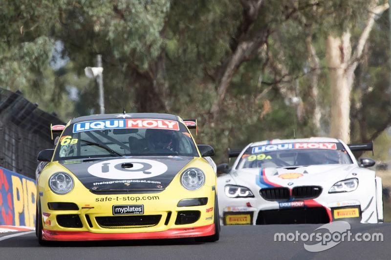 #6 Wall Racing, Porsche 997 GT3 Cup: Richard Gartner, Aaron Zerefos, Indiran Padayachee, Ric Shaw