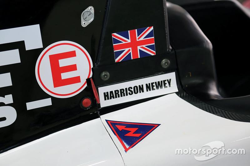 Detalle del coche Harrison Newey
