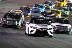 2018 Toyota Camry pace car, Christopher Bell, Kyle Busch Motorsports Toyota, Myatt Snider, Kyle Busc