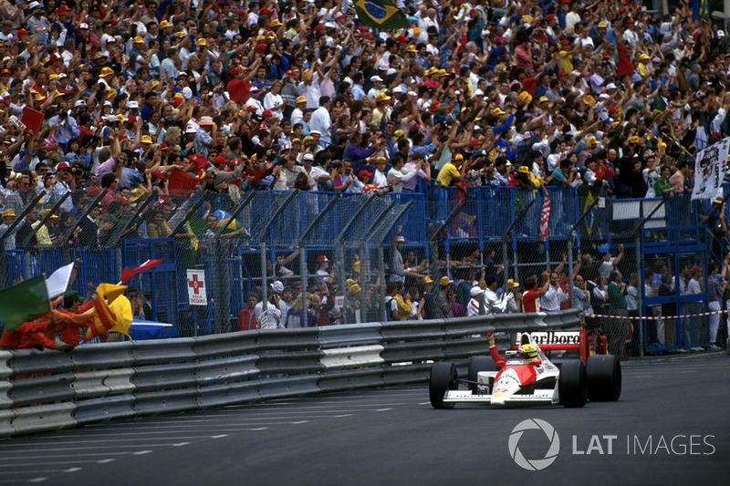 22 - GP de Mónaco, 1990, Montecarlo