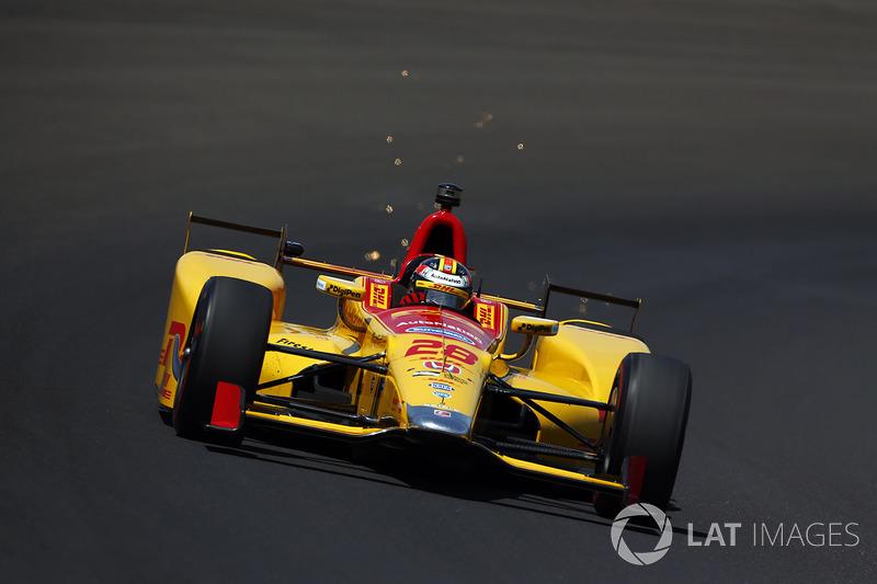 Motorschaden: Ryan Hunter-Reay, Andretti Autosport, Honda