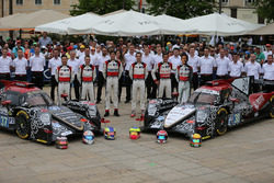 #37 DC Racing Oreca 07 Gibson: David Cheng, Alex Brundle, Tristan Gommendy, #38 DC Racing Oreca 07 G