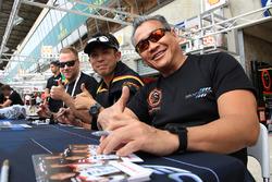 Mok Weng Sun, Matt Griffin, Keita Sawa, Clearwater Racing