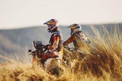 Toby Price, Red Bull KTM Factory Racing; Sam Sunderland, Red Bull KTM Factory Racing