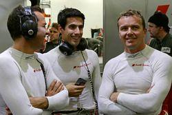 Benoît Tréluyer, Lucas di Grassi, Marcel Fässler, Audi Sport Team Joest