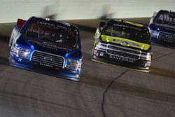 Tyler Reddick, Brad Keselowski Racing Ford, John Hunter Nemechek, NEMCO Motorsports Chevrolet