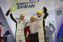 LMGTE Pro Podium: first place #95 Aston Martin Racing Aston Martin Vantage GTE: Marco Sorensen, Nick