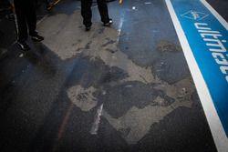 La marque au sol d'une F3