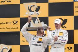 Podio: il vincitore della gara Bruno Spengler, BMW Team RBM, BMW M4 DTM
