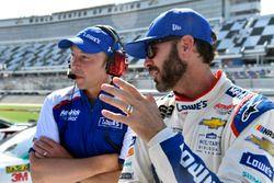 Jimmie Johnson, Hendrick Motorsports Chevrolet, Chad Knaus