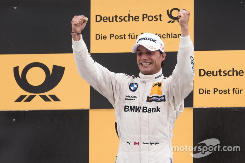 Podio: Ganador de la carrera Bruno Spengler, BMW Team RBM, BMW M4 DTM