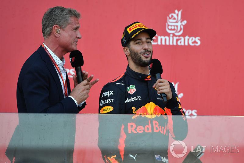 David Coulthard y Daniel Ricciardo, Red Bull Racing