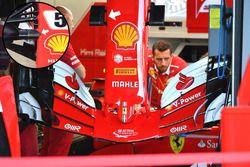 Ferrari SF70-H nariz y ala delantera