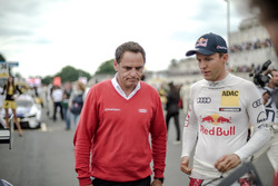 Hans-Jurgen Abt, Team principal Audi Sport Team Abt-Sportsline and Mattias Ekström, Audi Sport Team Abt Sportsline, Audi A5 DTM