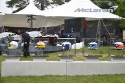 McLaren helmen