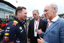 Christian Horner, Team Principal, Red Bull Racing, Chase Carey, Chairman, Formula One