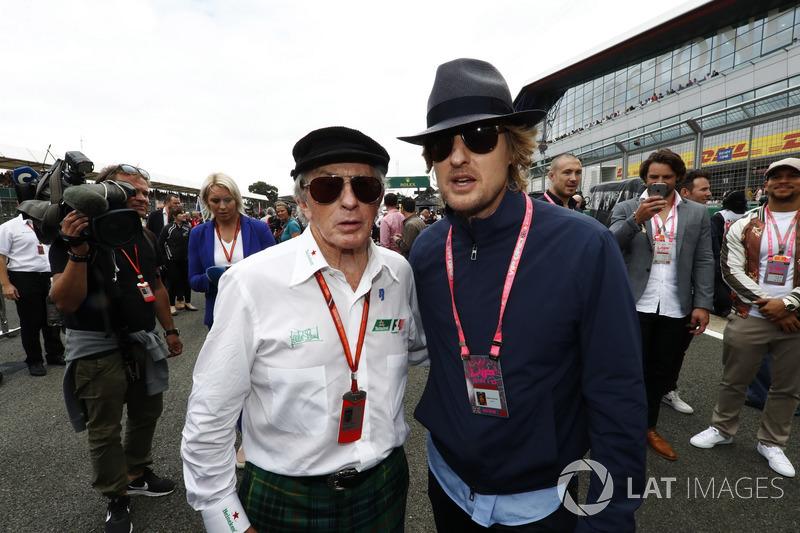 Sir Jackie Stewart e Owen Wilson, Attore