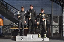 Ralf Henggeler, Denis Wolf, Daniel Borer, podio