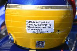 Il casco di Chase Briscoe, Brad Keselowski Racing Ford