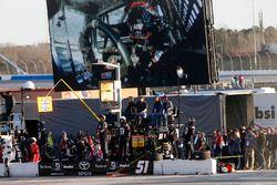 Kyle Busch, Kyle Busch Motorsports Toyota pits