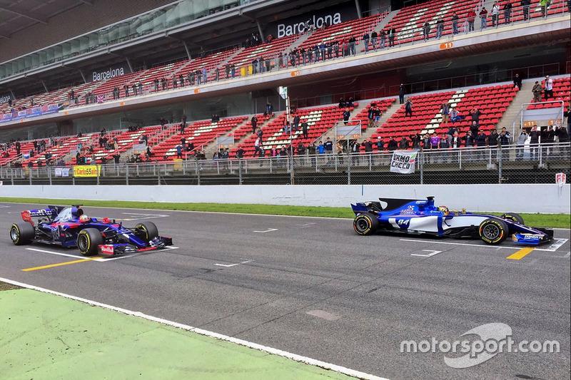 Карлос Сайнс-молодший, Scuderia Toro Rosso STR12, Паскаль Верляйн, Sauber C36