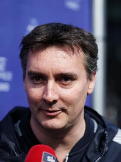 James Key, directeur technique de la Scuderia Toro Rosso STR12