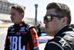 Noah Gragson, Kyle Busch Motorsports Toyota and Christopher Bell, Kyle Busch Motorsports Toyota