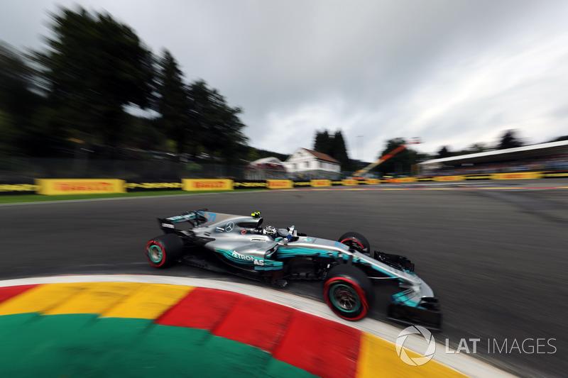 3. Valtteri Bottas, Mercedes-Benz F1 W08