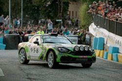 Fabrizio Andolfi Junior, Daniele Mangiarotti, Abarth 124 Rally, Eurospee