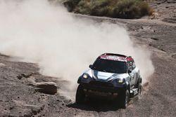 #308 X-Raid Team Mini: Orlando Terranova, Andreas Schulz