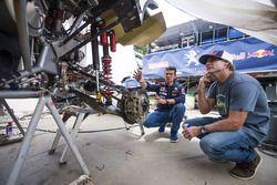 Robby Naish, Cyril Despres, Peugeot Sport