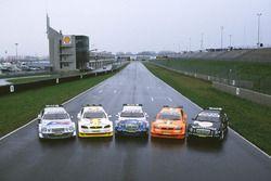 Mercedes AMG CLK DTM, HWA AG e Opel Astra DTM