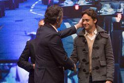 Alejandro Agag, CEO Fórmula E y Esteban Gutiérrez