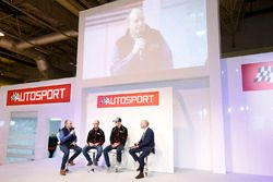 Elfyn Evans, Daniel Barritt, DMACK World Rally Team and Ben Taylor with Toby Moody on the Autosport
