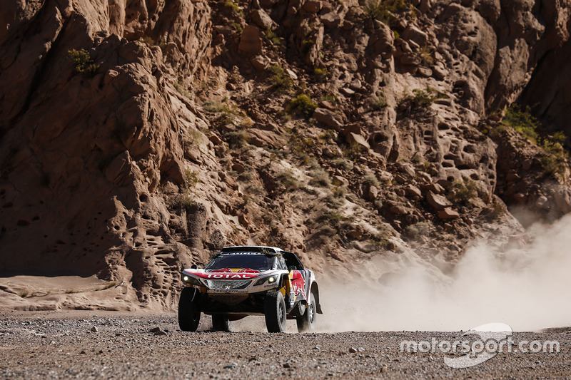 #309 Peugeot Sport Peugeot 3008 DKR: Sébastien Loeb, Daniel Elena