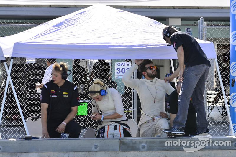 Brett Sandberg & Laura Kraihamer of ANSA Motorsports