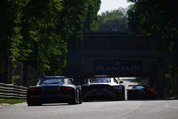 #26 Sainteloc, Audi R8 LMS: Christian Kelders, Christopher Hasse, Marc Rostan, #84 Mercedes-AMG Team