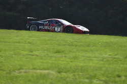 #7 Scuderia Corsa Ferrari 458 GT3: Martin Fuentes, Stefan Johansson