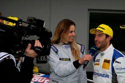 #5 Phoenix Racing, Audi R8 LMS: Mike Rockenfeller with Eve Scheer