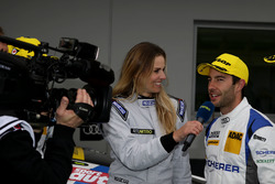 #5 Phoenix Racing, Audi R8 LMS: Mike Rockenfeller with Eve Scheer