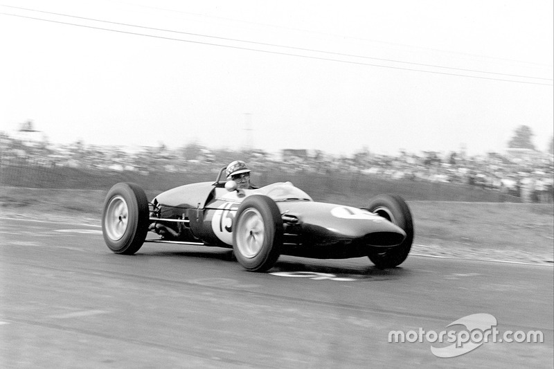 Innes Ireland (Lotus) - GP Estados Unidos 1961