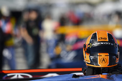 Ryan Eversley, RealTime Racing, helmet