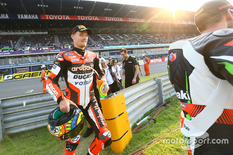 Segundo lugar Chaz Davies, Ducati Team