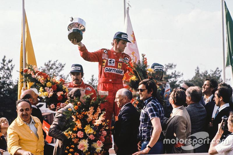 Niki Lauda no GP da Bélgica de 1976