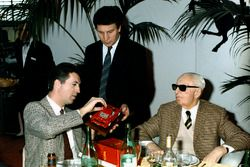 Enzo ve Piero Ferrari,1987