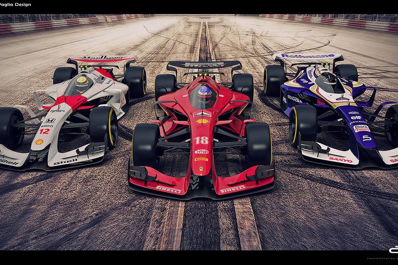 McLaren, Ferrari e Williams de 2025