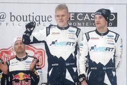 Podium: third place Ott Tänak, Martin Järveoja, M-Sport
