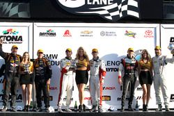 Podium ST: 1. #73 MINI JCW Team, MINI Cooper John Cooper Works: Derek Jones, Mat Pombo; 2. #56 Muril