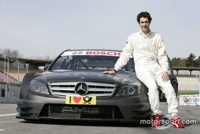 Mercedes Test in Hockenheim, März